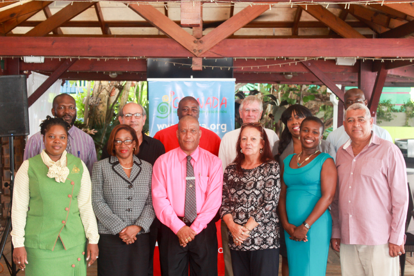Government, GDB and Hotel Recipients at award ceremony, True Blue Bay Resort - June 7th, 2016